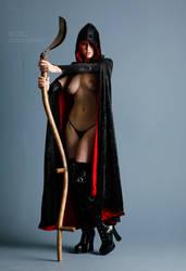 Grim's Sister - 1 by mjranum-stock