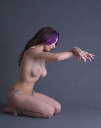 Slave Girl - 2 by mjranum-stock
