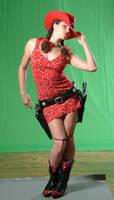 cowgirl gunslinger