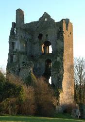 ruined castle by mjranum-stock