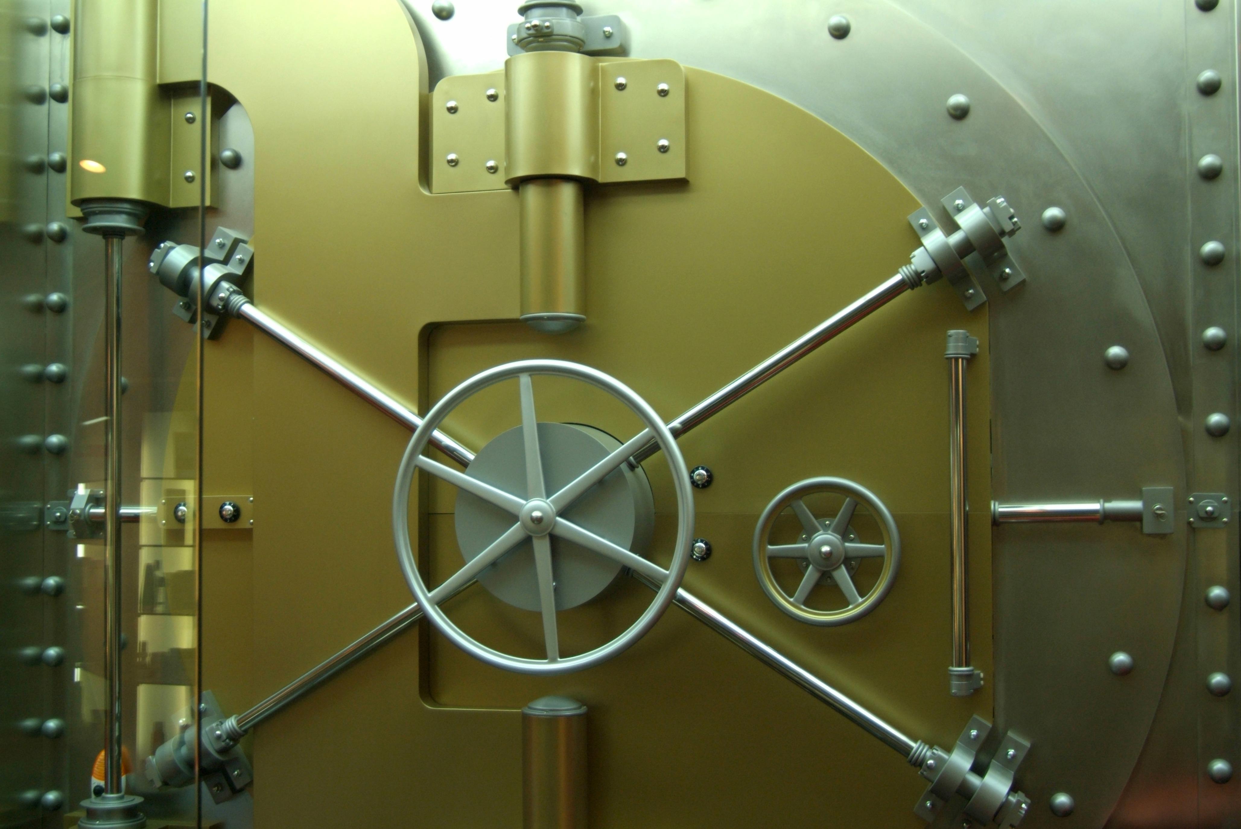 bank vault door exterior adam crowley 900—675