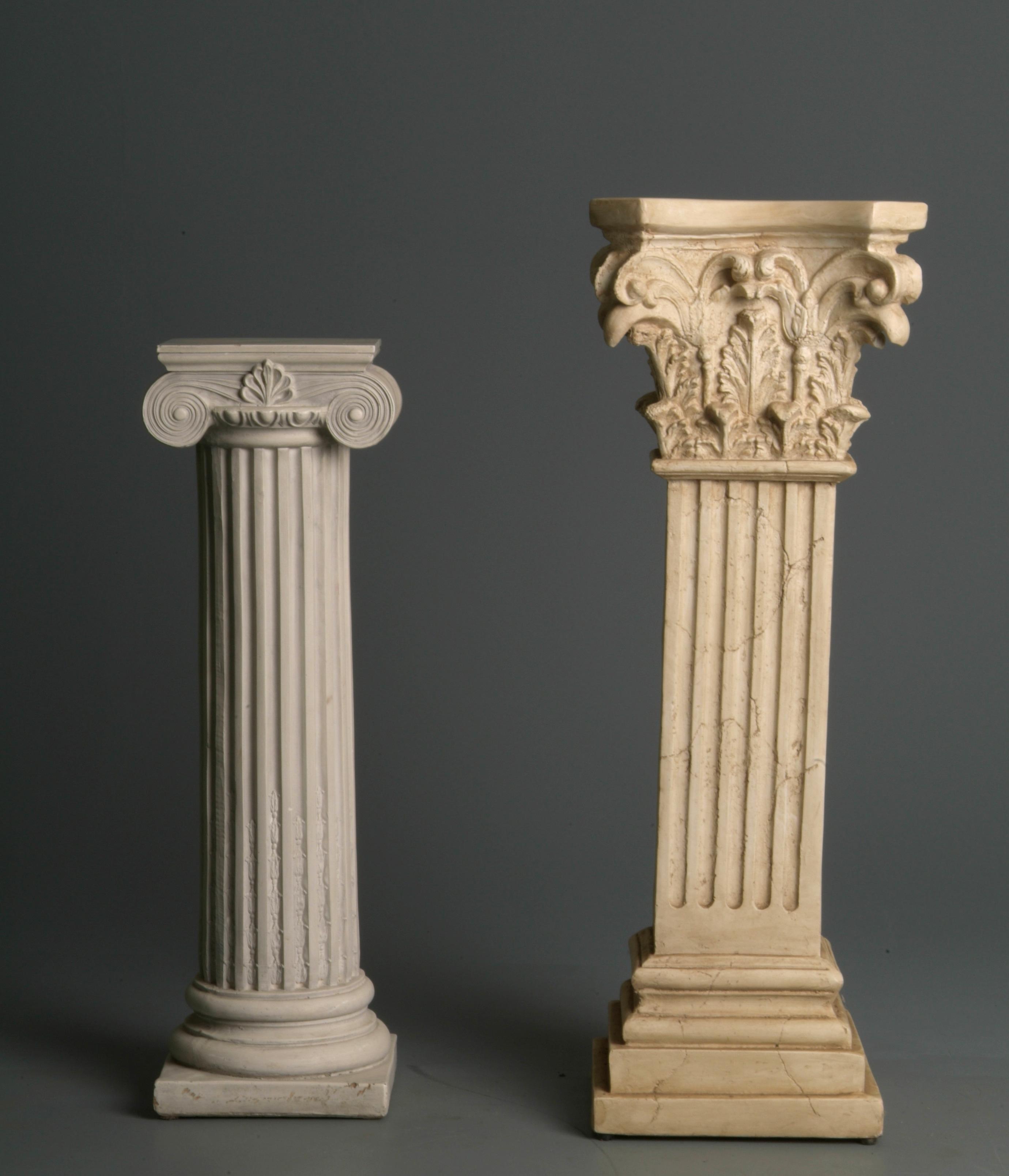 pedestals by mjranum-stock
