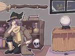 Witchy art trade by keokotheshadowfang