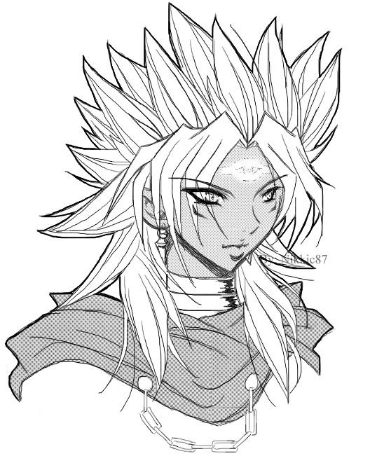 Marik sketch by Nikkic87