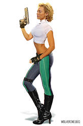 Abbey Chase - Danger Girl - Kelly Carlson by wolverine1031