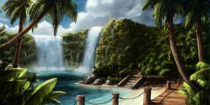 Waterfall World