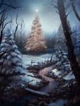 Winter Tree by Adam-Varga