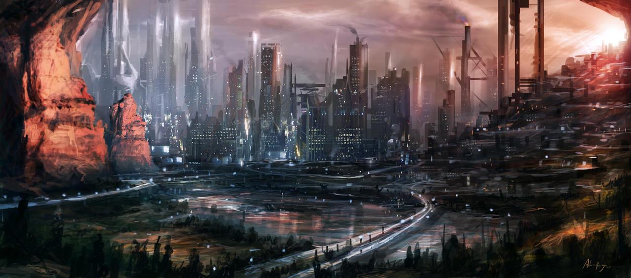 Draft City by Adam-Varga