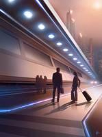 Keleti Train Station by Adam-Varga