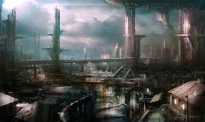 Circuit City by Adam-Varga