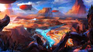 Dirigible Canyon