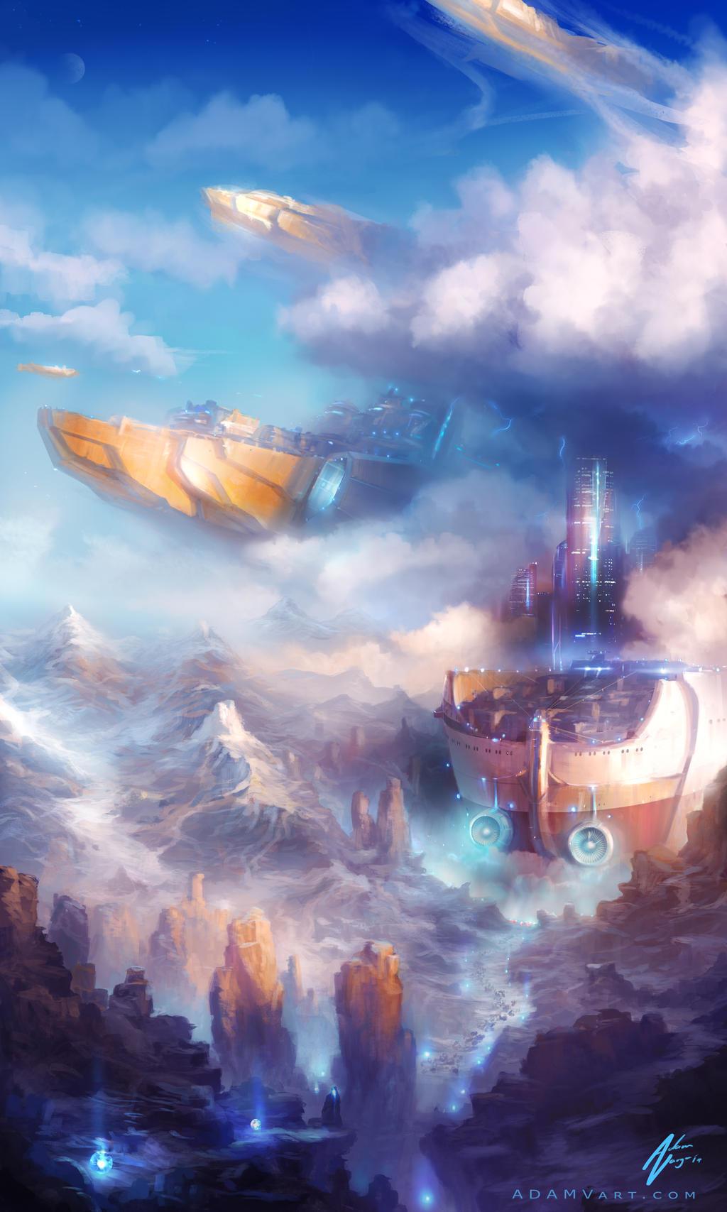 The Ark by Adam-Varga