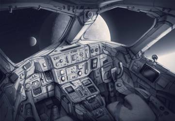 Cockpit Concept by Adam-Varga