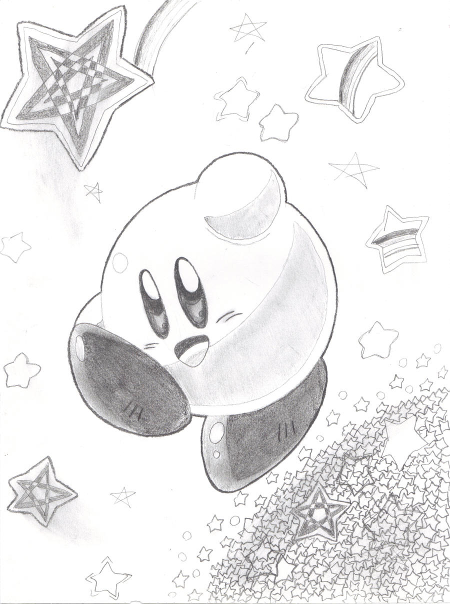 Kirby OUR STAR by keke74100
