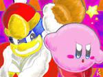 Kirby vs Dadidou