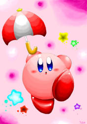 Kirby parasol by keke74100