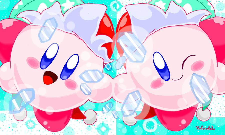 Mirror Kirby by keke74100 Mirror Kirby