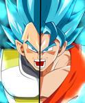 Goku y Vegeta SSJ Azul