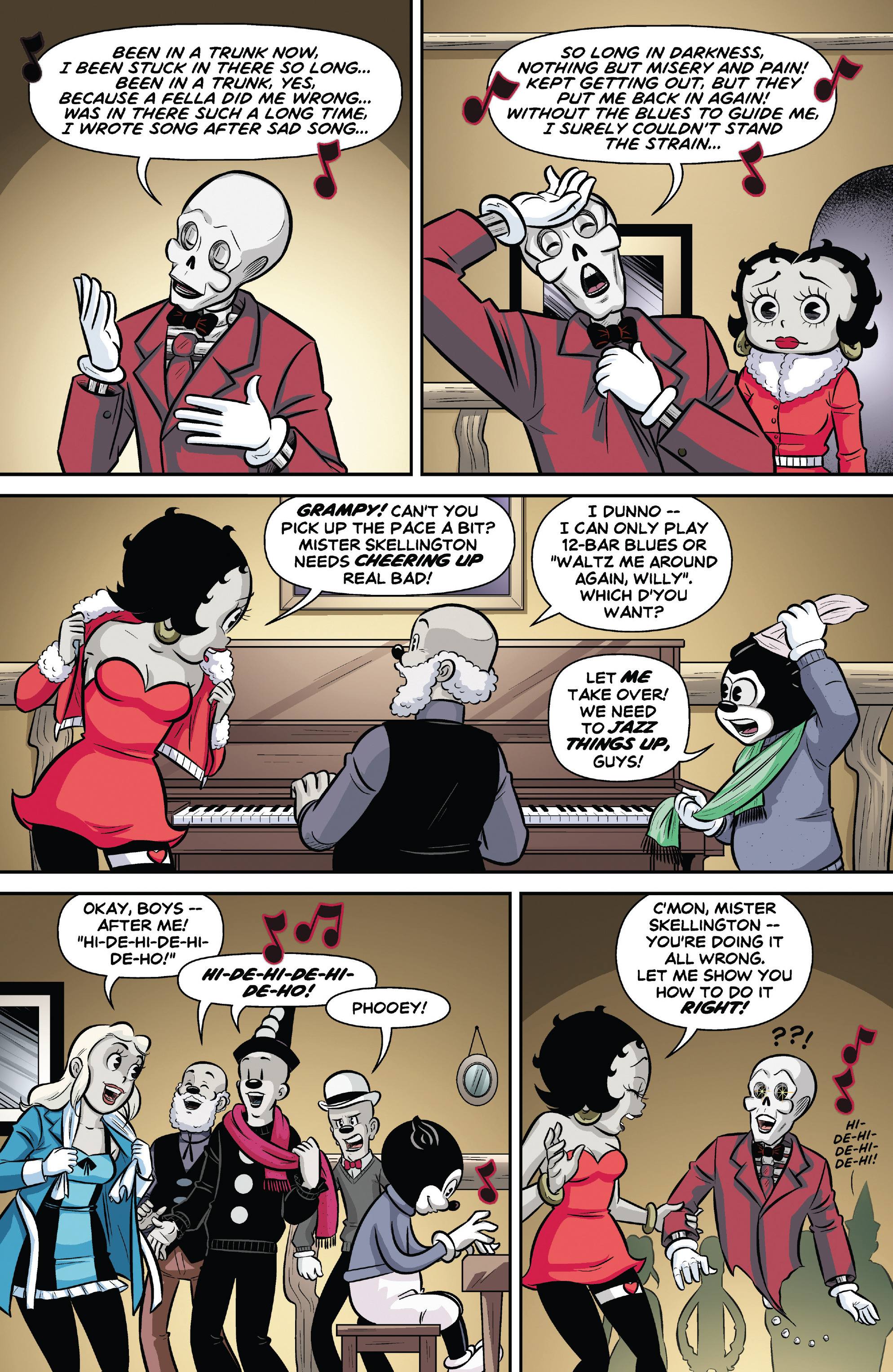 Betty Boop Dynamite Comic #4 (Page 17) by Rapper1996