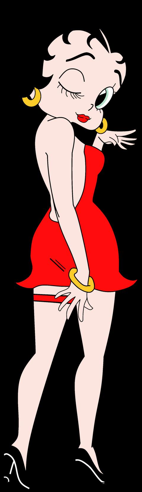 Betty Boop Anime Render by Rapper1996