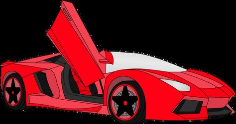 Heartfilia's Lamborghini Aventador 3 by Rapper1996