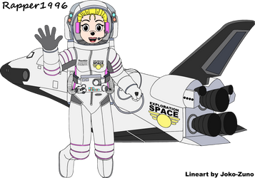Heartfilia and the Exploration Space Ship by Rapper1996