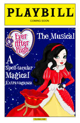 Ever After High - The Musical (Playbill Poster 2) by Rapper1996