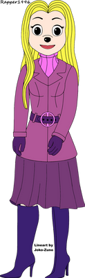Heartfilia in her Turtleneck Jumper and Coat