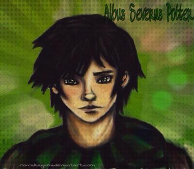 Albus Severus Potter by Reikma
