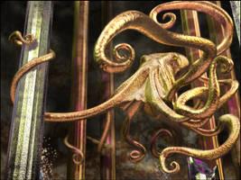 Halls of The Kraken by TomSegal