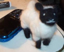 Needle Felted Sheepie