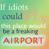 If Idiots Could Fly Avatar by Fire-Of-Hope