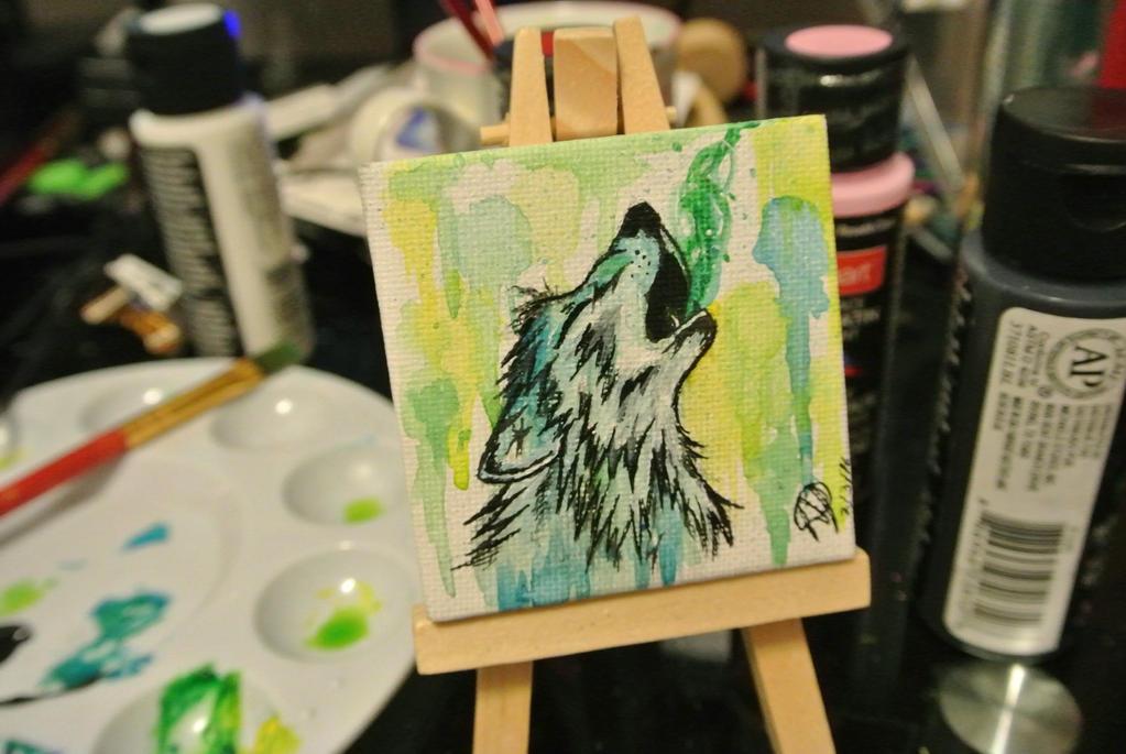 blue wolf by neko-wolf1