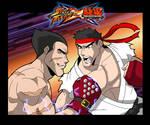 SxT - Ryu vs Kazuya