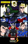 Marvel vs Capcom 3 contest art