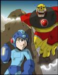 Mega Man Tribute Piece