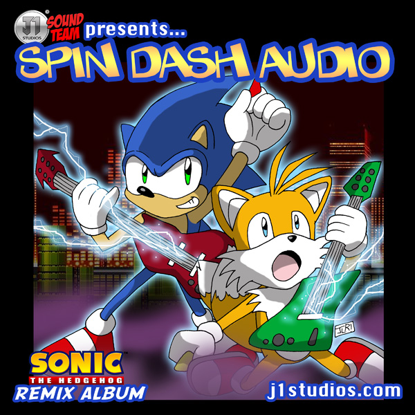 Spin Dash Audio album cover by levonn78 on DeviantArt