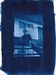 Boy on Stairs by Eddy98