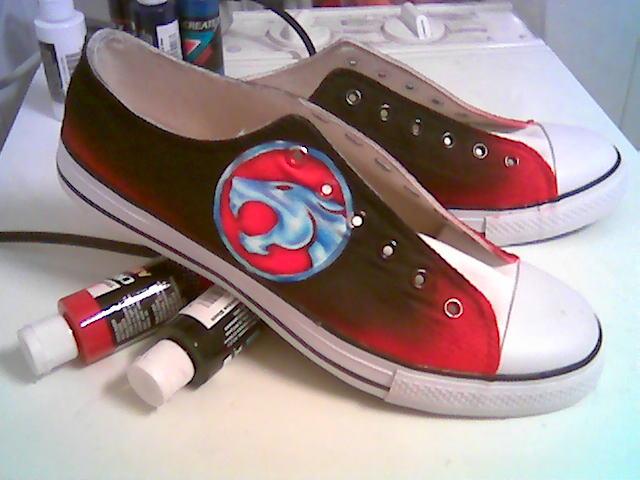 Thundercat shoes by Innom