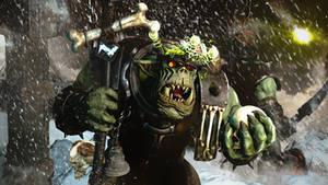 WeirdBoy And The GreenComet