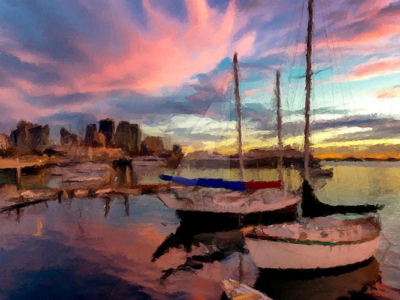 Dock of the Bay by DavidDehner