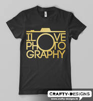 I Love Photography Camera by xtotallybored