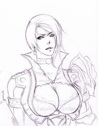 Ivy Valentine Soul Calibur 5 WIP