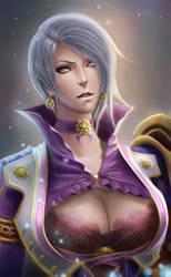 Ivy Valentine Soul Calibur 5 by lucasblahblah
