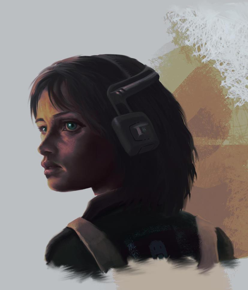Stylized Portrait 15 by AumesRonoy