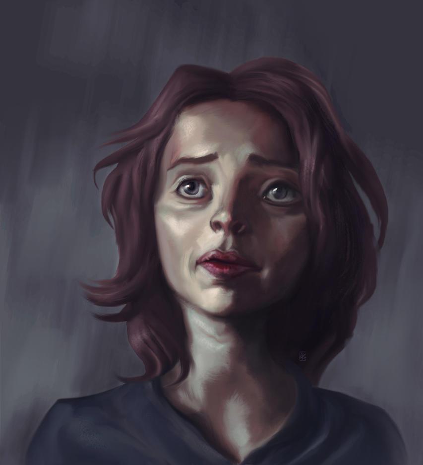 Stylized Portrait 4 by AumesRonoy