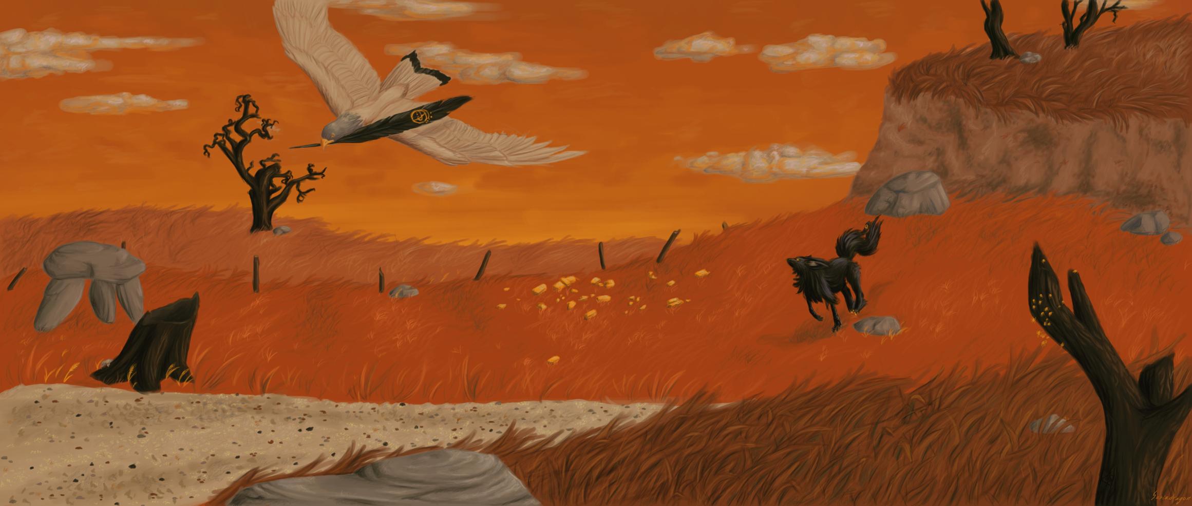 Illustrate to 'get your gun' by Sasiadragon