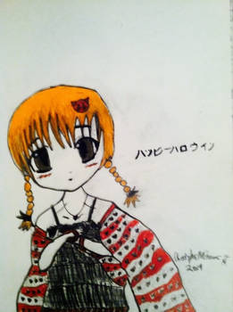 Random Anime Color Sketch