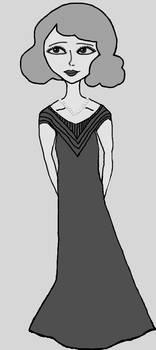 1930s Girl Black and White 2018