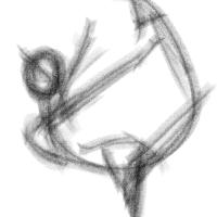 Gesture sketch brush preset for krita by ddelemeny